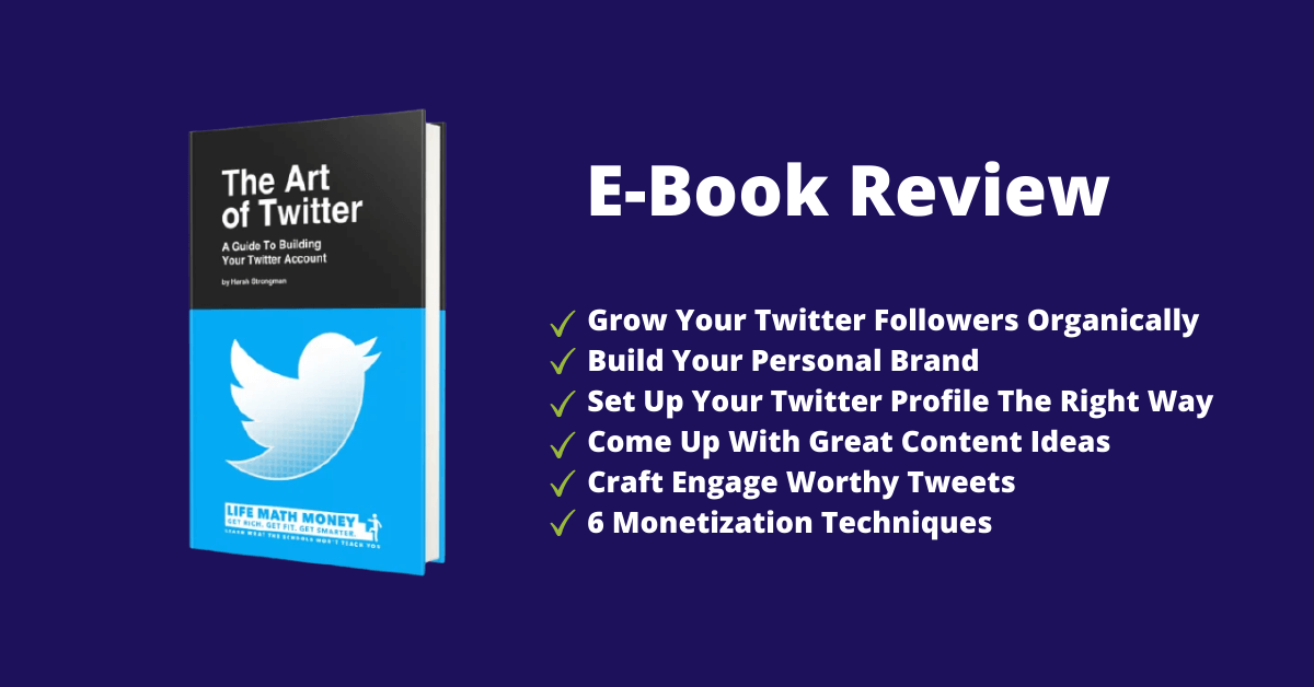 the art of twitter ebook by LifeMathMoney